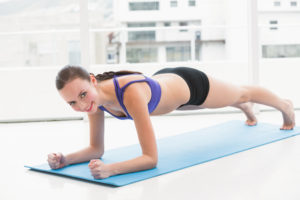 Sphinx or Plank Core Exercise